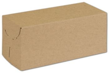 Natural Kraft Two-Piece Expandable Boxes, 9 x 4 x 4