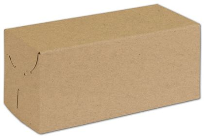"Natural Kraft Two-Piece Expandable Boxes, 9 x 4 x 4"""