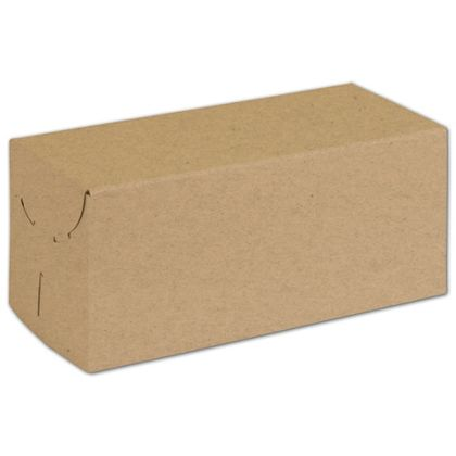 Natural Kraft Two-Piece Expandable Boxes, 9 x 4 x 4""