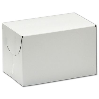 "White Two-Piece Expandable Boxes, 9 x 9 x 2 3/4"""