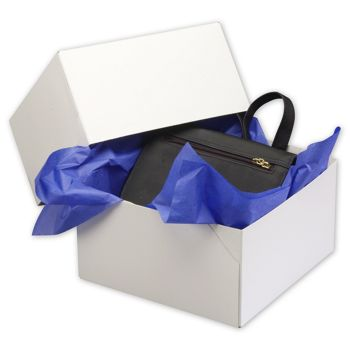 White Two-Piece Gift Boxes, 9 x 9 x 5