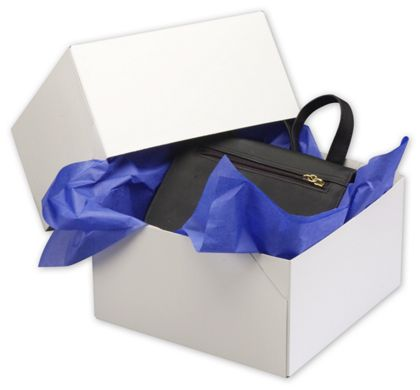 White Two-Piece Gift Boxes, 9 x 9 x 5""