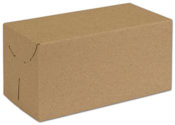 Natural Kraft Two-Piece Expandable Boxes, 10 x 5 x 5