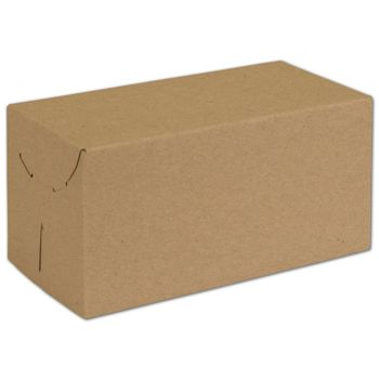 Natural Kraft Two-Piece Expandable Boxes, 10 x 5 x 5