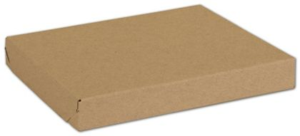 Natural Kraft Two-Piece Expandable Boxes, 10 x 8 x 1 1/4""