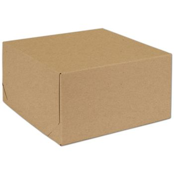 Natural Kraft Two-Piece Expandable Box 10 1/2x10 1/2x5 1/2