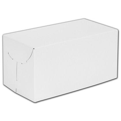 """White Two-Piece Gift Boxes, 12 x 6 x 6"""""""