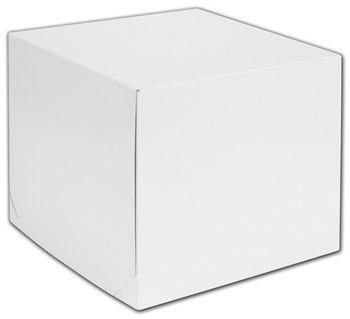 White Two-Piece Gift Boxes, 12 x 12 x 10