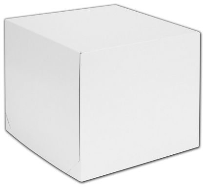 """White Two-Piece Gift Boxes, 12 x 12 x 10"""""""