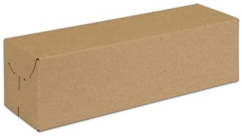 Natural Kraft Two-Piece Expandable Boxes, 13x3 3/4x3 3/4