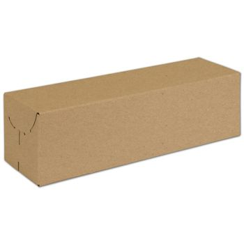 Natural Kraft Two-Piece Expandable Boxes, 13x3 3/4x3 3/4""