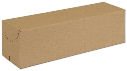 "Natural Kraft Two-Piece Expandable Boxes, 13x3 3/4x3 3/4"""