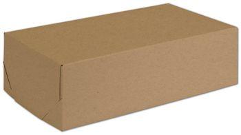 Natural Kraft Two-Piece Expandable Boxes, 13 x 7 x 3 3/4
