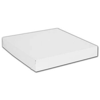 White Two-Piece Gift Boxes, 14 x 14 x 2