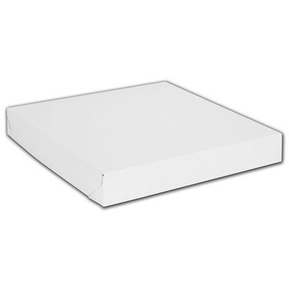 """White Two-Piece Gift Boxes, 14 x 14 x 2"""""""