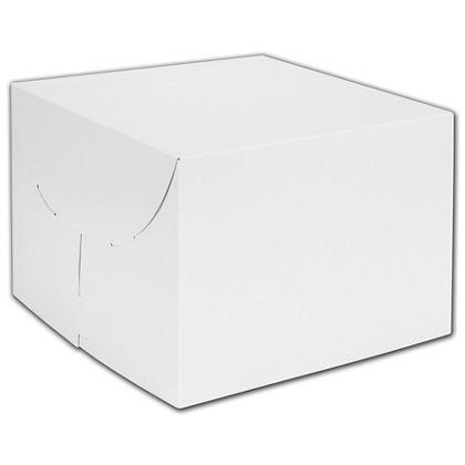 """White Two-Piece Gift Boxes, 14 x 14 x 5"""""""