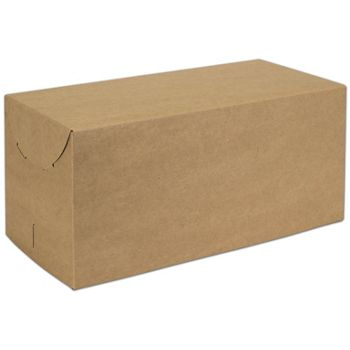 Natural Kraft Two-Piece Expandable Boxes, 15 x 7 x 7