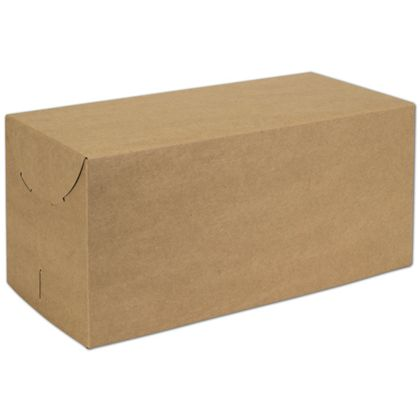 Natural Kraft Two-Piece Expandable Boxes, 15 x 7 x 7""