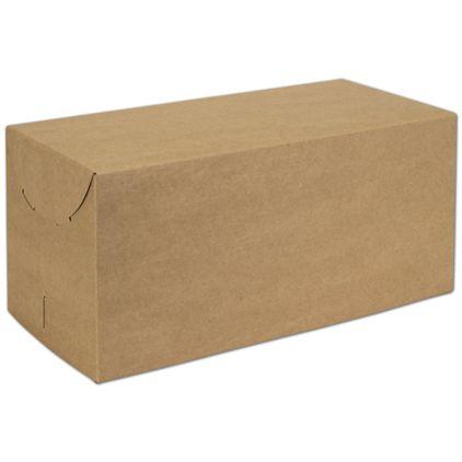 "Natural Kraft Two-Piece Expandable Boxes, 15 x 7 x 7"""