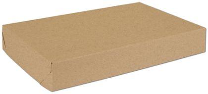 "Natural Kraft Two-Piece Expandable Boxes, 17 x 11 x 2 1/2"""