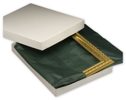 White Two-Piece Gift Boxes, 18 x 14 x 2""