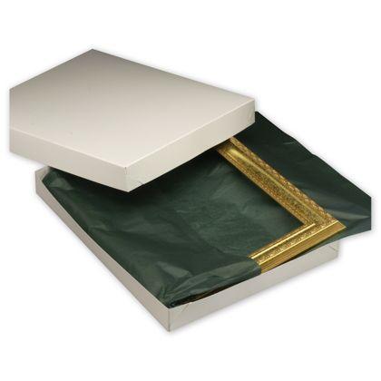 """White Two-Piece Gift Boxes, 18 x 14 x 2"""""""