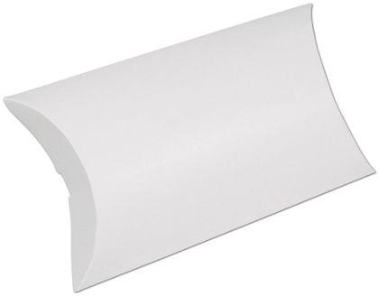 "White Pillow Boxes, 7 x 5 1/2 x 2"""