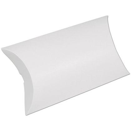 White Pillow Boxes, 7 x 5 1/2 x 2""
