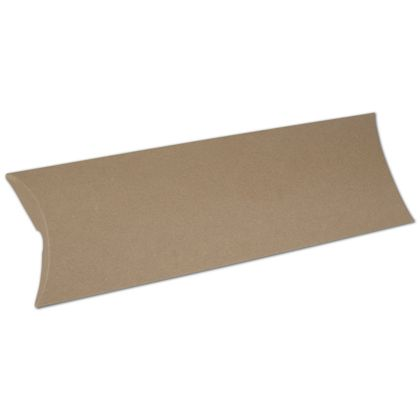 Kraft Pillow Boxes, 12 x 4 1/2 x 1 1/2""