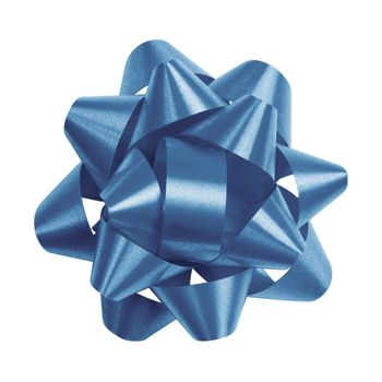Royal Blue Splendorette Star Bows, 14 Loops, 2 3/4