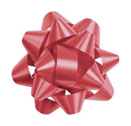 """Red Splendorette Star Bows, 14 Loops, 2 3/4"""""""