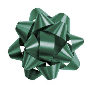 Hunter Green Splendorette Star Bows, 14 Loops, 2 3/4