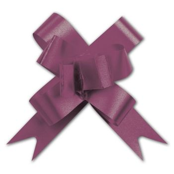 Burgundy Butterfly Bows, 2