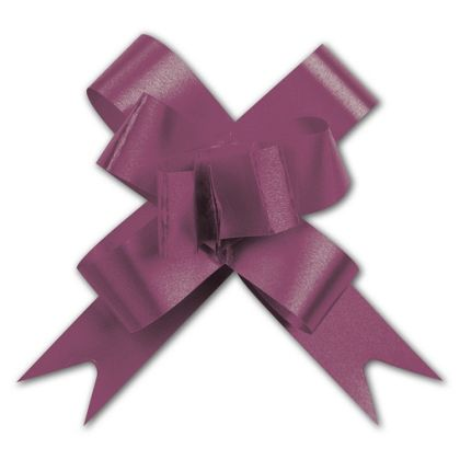 Burgundy Butterfly Bows, 2""