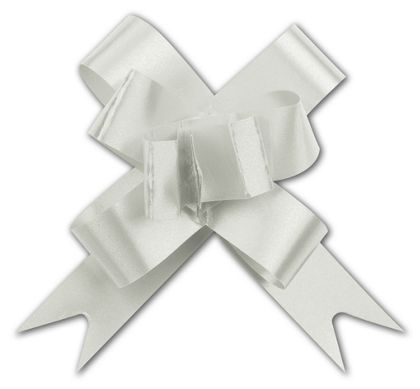 Silver Butterfly Bows, 2""