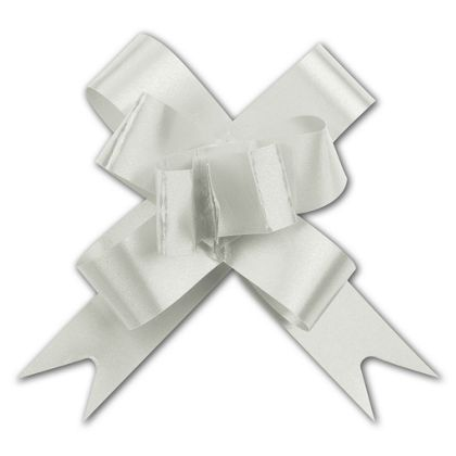 """Silver Butterfly Bows, 2"""""""