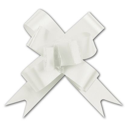 White Butterfly Bows, 2""