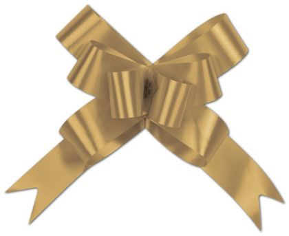Gold Butterfly Bows, 4""