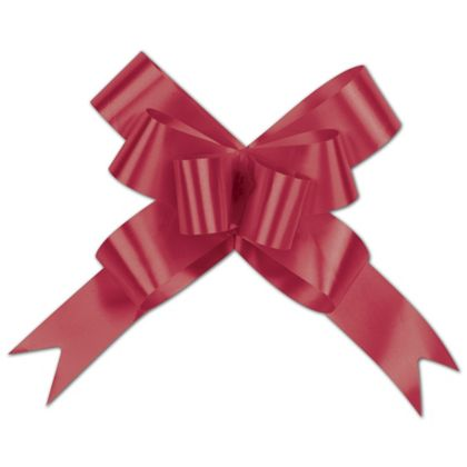 Red Butterfly Bows, 4""