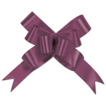 Burgundy Butterfly Bows, 4