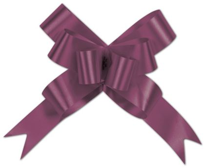 """Burgundy Butterfly Bows, 4"""""""