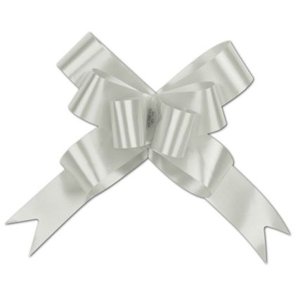 Silver Butterfly Bows, 4""