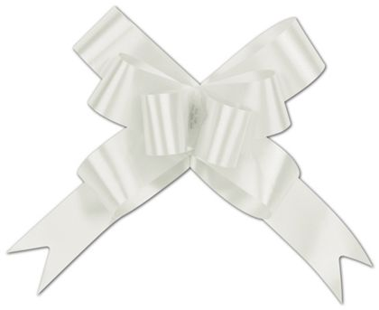 White Butterfly Bows, 4""