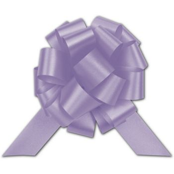 Lavender Satin Perfect Pull Bows, 18 Loops, 4