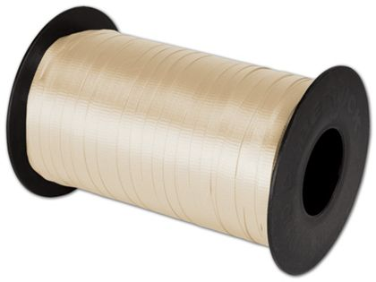 "Splendorette Curling Vanilla Ribbon, 3/16"" x 500 Yds"
