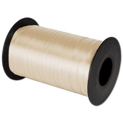 """Splendorette Curling Vanilla Ribbon, 3/16"""" x 500 Yds"""