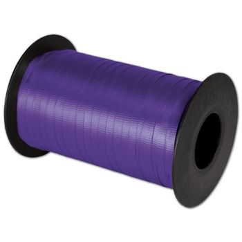 Splendorette Curling Purple Ribbon, 3/16