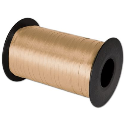 "Splendorette Curling Gold Ribbon, 3/16"" x 500 Yds"