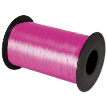 "Splendorette Curling Cerise Ribbon, 3/16"" x 500 Yds"