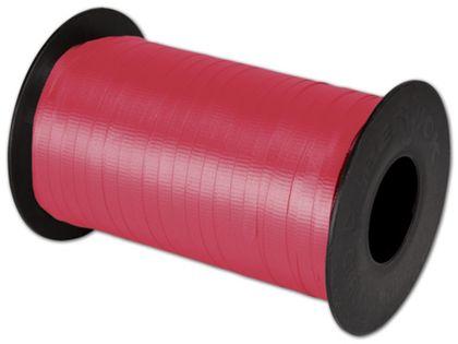 """Splendorette Curling Red Ribbon, 3/16"""" x 500 Yds"""